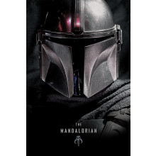 Poster Star Wars: The Mandalorian (Dark)