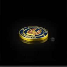 Medaglia/Moneta del diploma per i cadetti dell'Accademia della Flotta Stellare