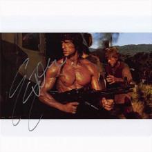 Autografo Sylvester Stallone - Rambo Foto 20x25