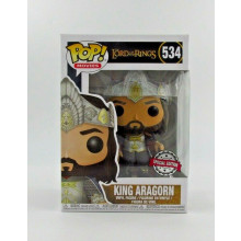 Funko Pop! Lord of the Rings King Aragorn #534 special edition