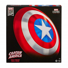 Marvel Legends 80° Anniversario Scudo Di Captain America PVC Hasbro