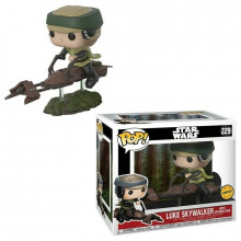 Funko Pop! Luke Skywalker wiyh speeder bike #229 chase