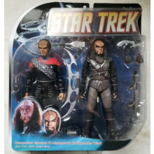 Star Trek Deep Space Nine Action Figure  Worf Gowron