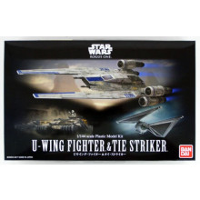 Bandai Star Wars U-Wing Fighter & Attaccante 1/144 Scala