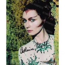 Autografo  Catherine Schell Space 1999 - 10 Foto  20x25
