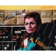 Autografo  Catherine Schell Space 1999 - 11 Foto  20x25