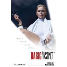 Statua Basic Instinct Sharon Stone Blitzway Sideshow au 1/4 Limited edition + Autografo Sharon Stone
