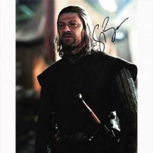 Autografo Sean Bean - Game of Thrones - Il Trono di Spade Foto 20x25