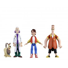 Set Personaggi Back to the future Action Figure serie animata