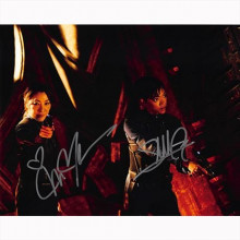 Autografo Sonequa Martin-Green & Michelle Yeoh - Star Trek Discovery Foto 20x25