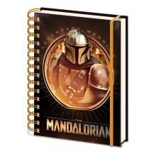 Notebook A5 Star Wars: The Mandalorian (Bounty Hunter)