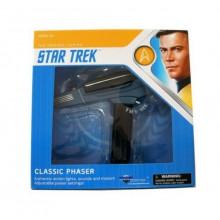 Star Trek TOS Classic Black Handle Phaser Authentic Replica