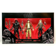 STAR WARS ROGUE ONE BLACK SERIES 3-PACK BOX SET ACTION FIGURES DEATH TROOPER