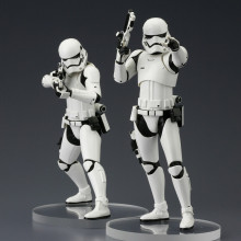 Star Wars Episode VII pack 2 Kotobukiya ARTFX+ First Order Stormtroopers
