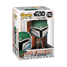 STAR WARS: THE MANDALORIAN COVERT FIGURA FUNKO POP! VINYL