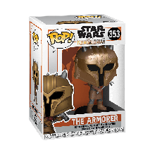 STAR WARS: THE MANDALORIAN - THE ARMOR (MT) FIGURA FUNKO POP! VINYL