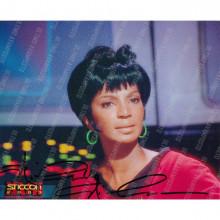 Autografo Nichelle Nichols Star Trek Classica Foto 20x25