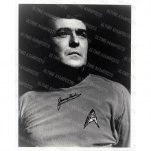 Autografo  James Doohan Scotty Star Trek  Foto 20x25