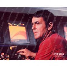 Autografo  James Doohan Scotty Star Trek 2  Foto 20x25