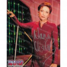 Autografo Nana Visitor  Star Trek DS9 Foto 20x25