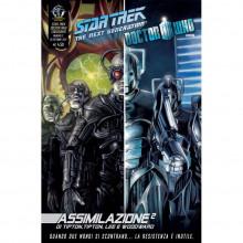 Fumetto Assimilazione² N°2 di 8 – Star Trek The Next Generation & Doctor Who
