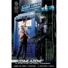Fumetto Assimilazione² N°6 di 8 – Star Trek The Next Generation & Doctor Who