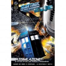 Fumetto Assimilazione² N°7 di 8 – Star Trek The Next Generation & Doctor Who