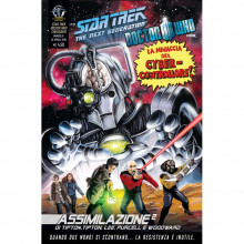 Fumetto Assimilazione² N°8 di 8 – Star Trek The Next Generation & Doctor Who