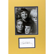 Autografo Gene Roddemberry Star Trek Creator Foto 40x25