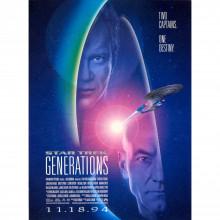 Locandina americana Satr Trek Generations