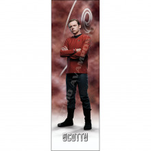 Segnalibro Scotty figura intera Star Trek Reboot