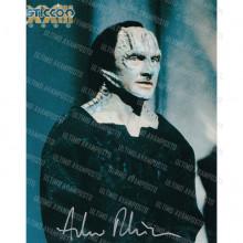 Autografo Andrew Robinson Garak Star Trek: Foto 20x25