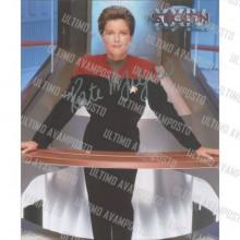 Autografo Kate Mulgrew Star Trek Voyager Foto 20x25