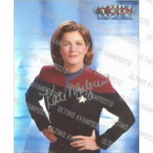 Autografo Kate Mulgrew  Star Trek Voyager 3 Foto 20x25