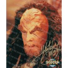 Autografo J.G. Hertzler Star Trek DS9- 2 . Foto 20x25