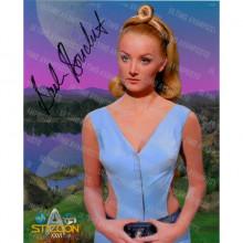 Autografo Barbara Bouchet Star Trek Classica Foto 20x25