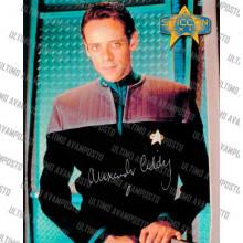 Autografo Alexander Siddig Star Trek DS9 - 3 -  Foto 20x25