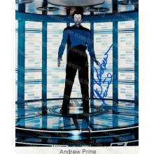 Autografo Andrew Prine Star Trek Foto 20x25