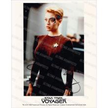 Autografo Jeri Ryan - Star Trek 2 Foto 20x25