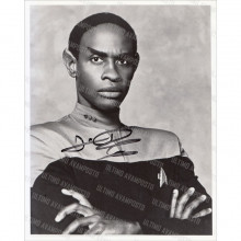 Autografo Tim Russ Star Trek Voyager 4 Foto 20x25