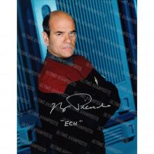Autografo Robert Picardo Star Trek  Voyager 4 Foto 20x25