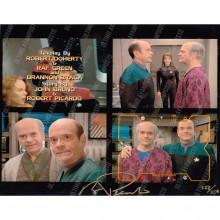 Autografo Robert Picardo Star Trek  Voyager 8 Foto 20x25