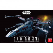 X-Wing Starfighter Model in scala 1/72 da Star Wars