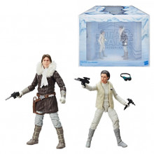 Han Solo And Princess Leia Organa – The Black Series UK Exclusive