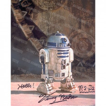 Autografo Star Wars Kenny Baker - Foto 20x25