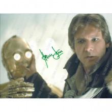 Autografo Star Wars Harrison Ford -Foto 20x25