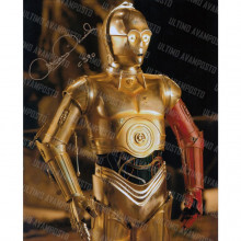 Autografo Star Wars Anthony Daniels Foto 20x25