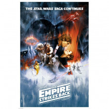 Poster Star Wars The Empire Strikes Back (One Sheet)