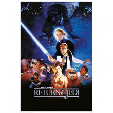 Poster Star Wars Return Of The Jedi (One Sheet)