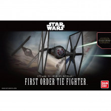 Star Wars Tie Fighter Imperiale Guerre Stellari - Bandai Kit 1:72